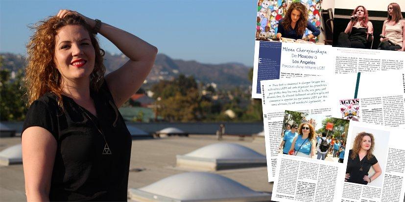 Milena Chernyavskaya, de Moscou à Los Angeles, le parcours d'une militante LGBT