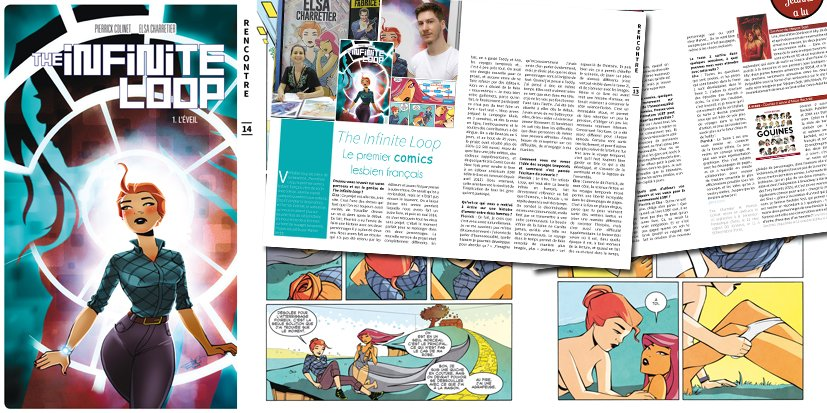 The Infinite Loop, interview des auteurs du premier comics lesbien français