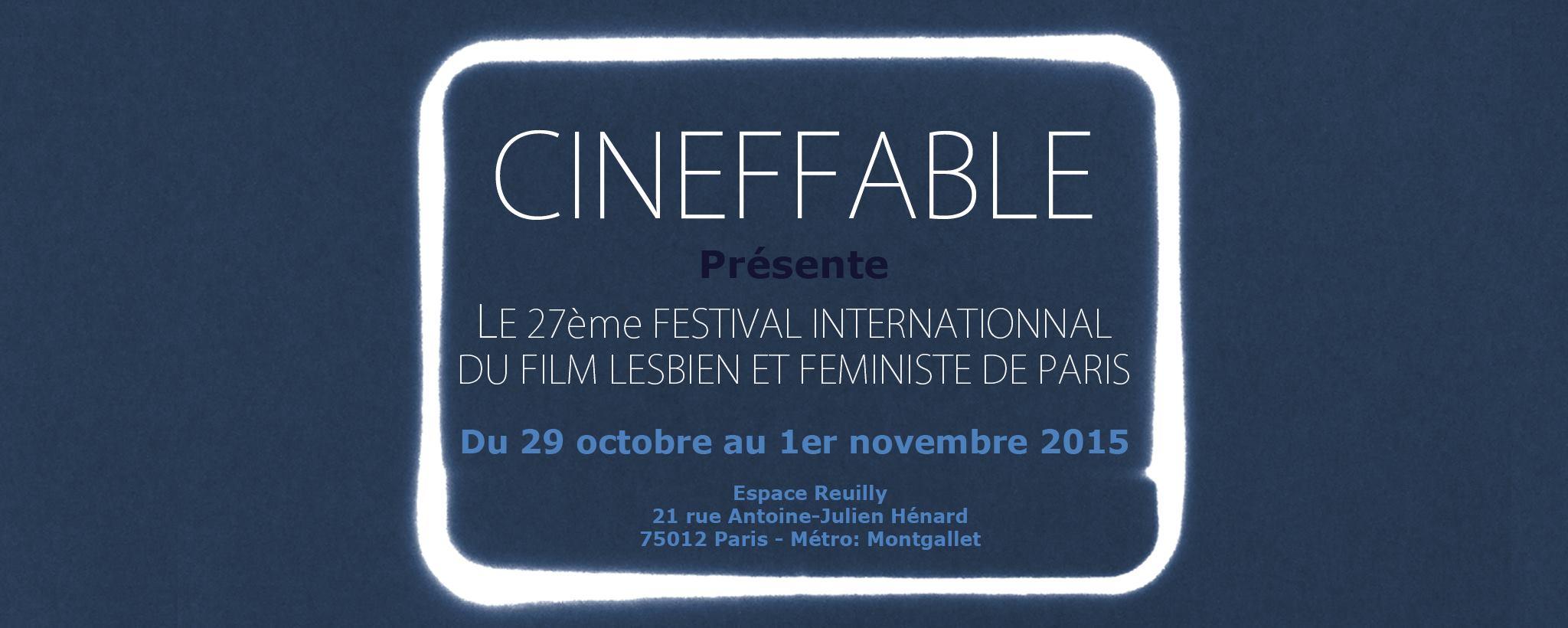 La 27è édition de Cineffable commence jeudi