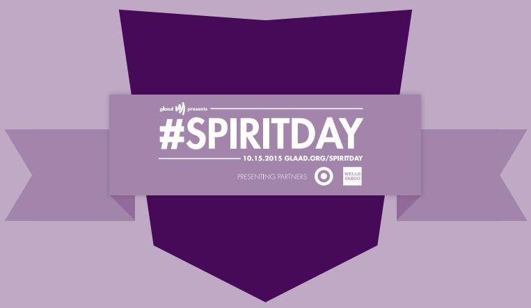 Aujourd'hui 15 octobre, c'est le Spirit Day, portez du violet !