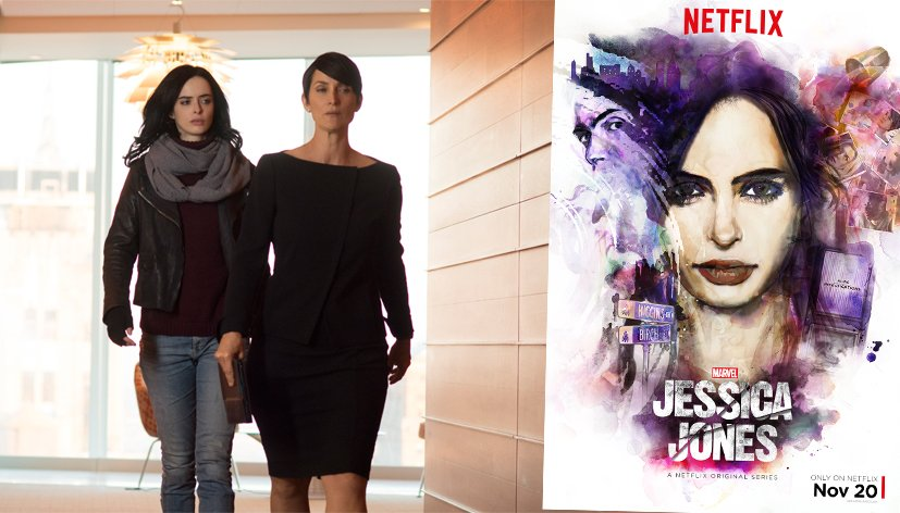 Jessica Jones : les 13 épisodes disponibles sur Netflix
