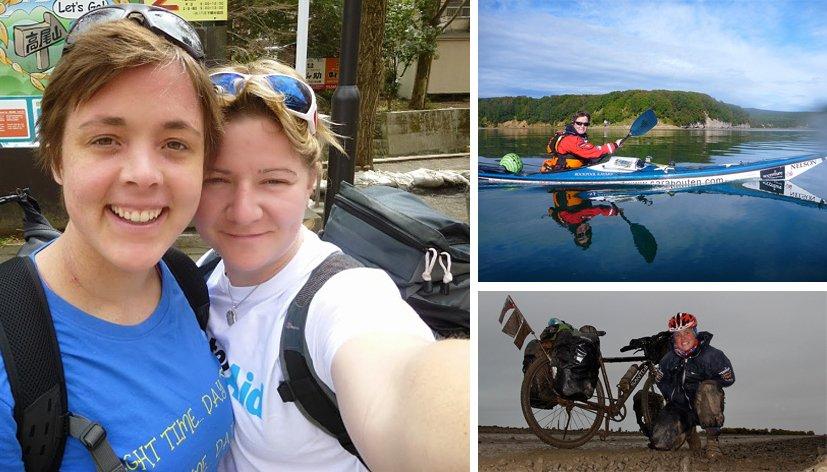 Elle avait demandé sa fiancée en mariage au beau milieu du Pacifique : Sarah Outen vient de boucler son tour du monde