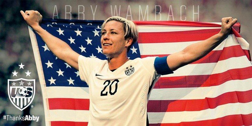 Une retraite bien méritée pour Abby Wambach