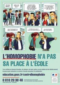 L'homophobie n'a pas sa place a l'école