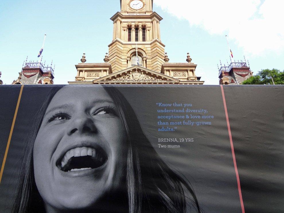 Sydney : une expo sur les enfants qui grandissent dans des familles homoparentales