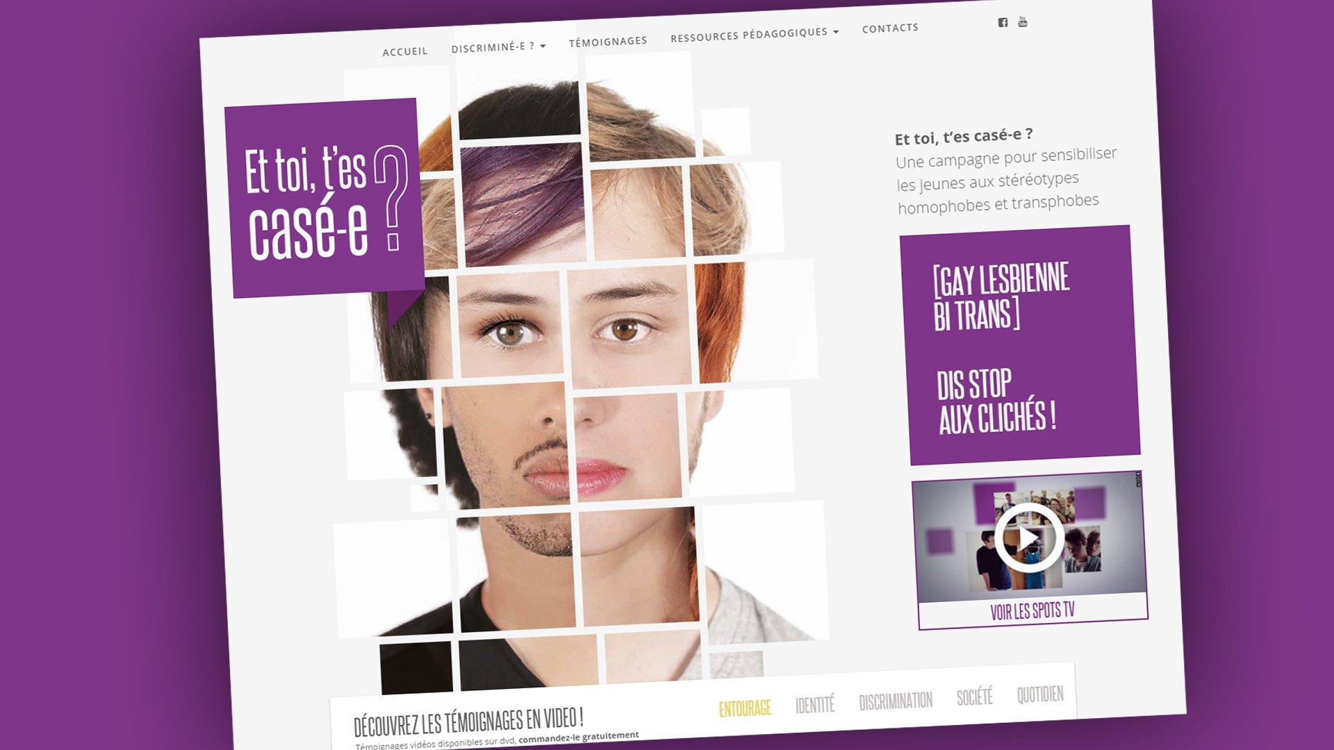 Belgique : « Et toi, t'es casé-e ? », une campagne pour dire stop aux clichés !