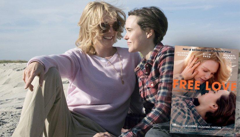 Télé : Free Love avec Ellen Page et Julianne Moore, ce soir sur Numéro 23