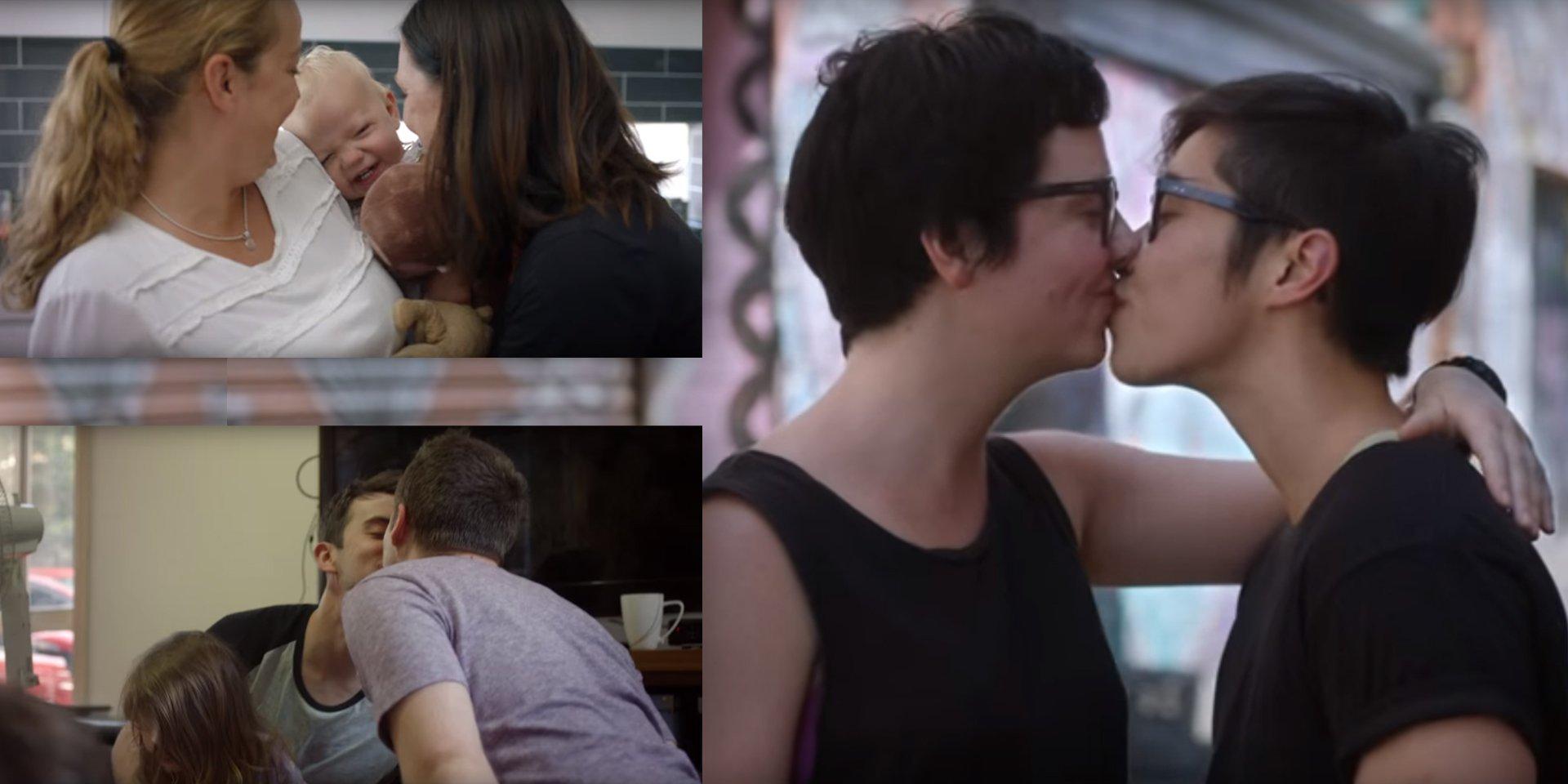 Australie : Une publicité met en lumière la diversité des familles
