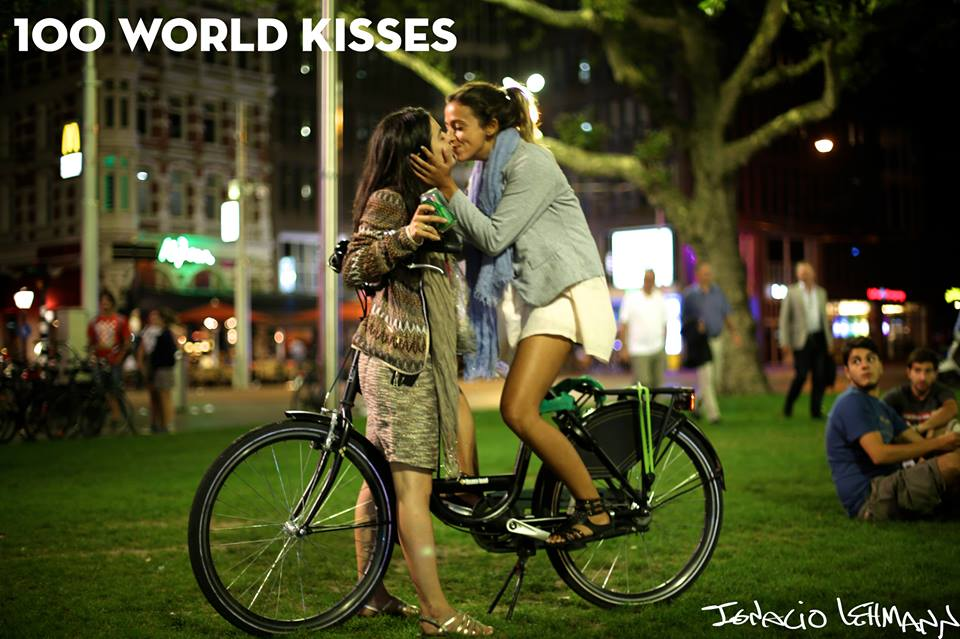 100 World Kisses : des baisers immortalisés aux quatre coins du monde