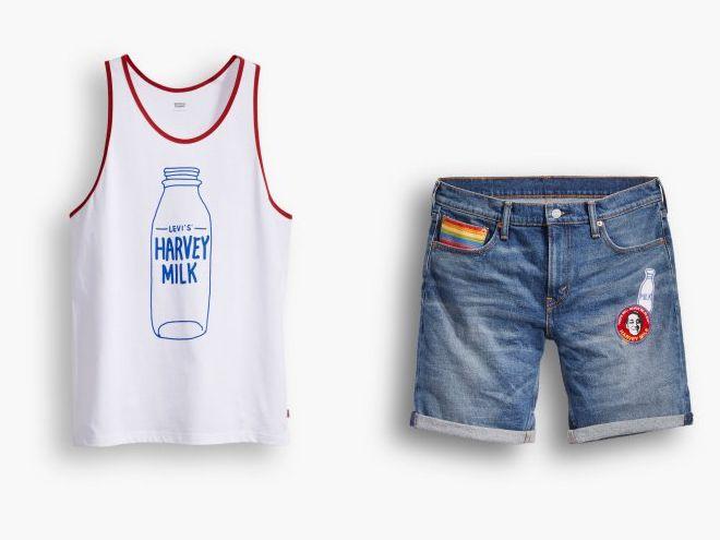 Levi's s'associe avec la Fondation Harvey Milk et lance une collection pour les Pride 2016
