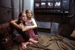 Jodie Foster et Kristen Stewart dans Panic Room