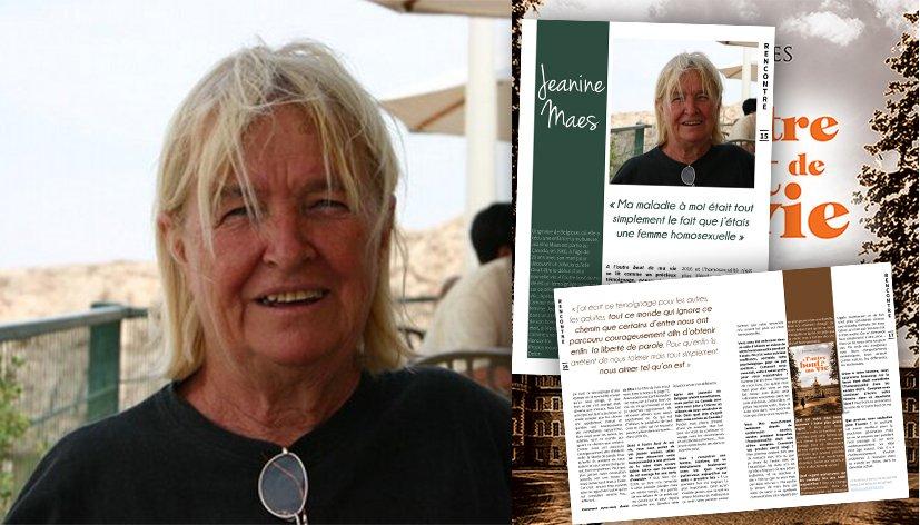 Rencontre avec Jeanine Maes pour son roman A l'autre bout de ma vie