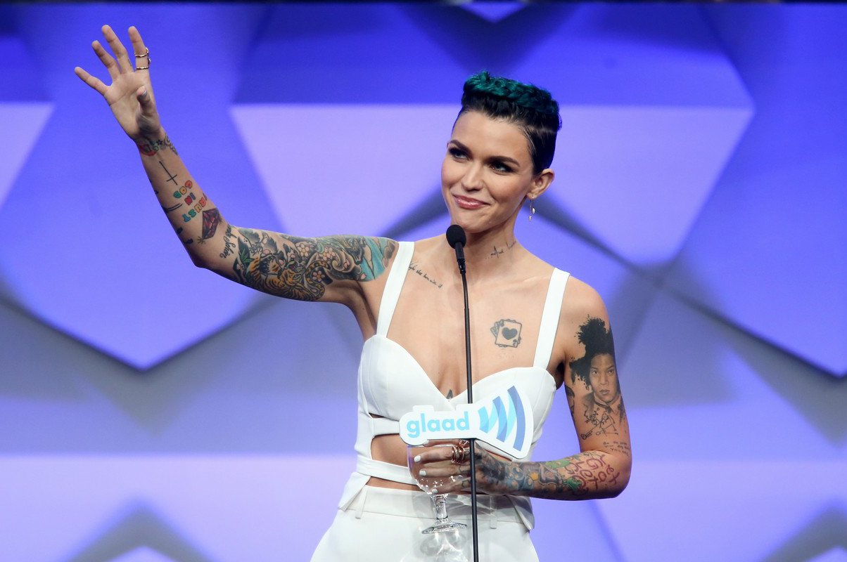 Ruby Rose récompensée aux Glaad Media Awards