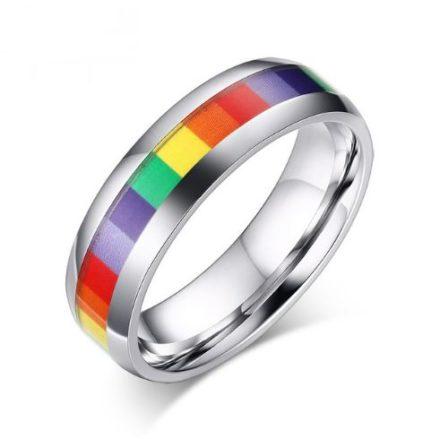 Bague rainbow fine