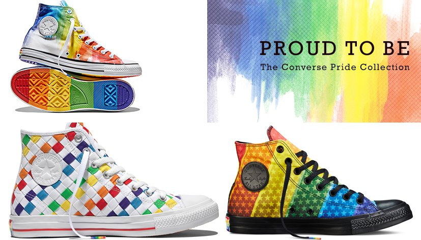 Converse lance sa Pride Collection