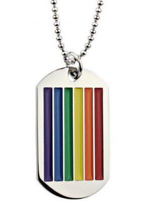 Plaque rainbow