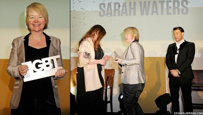 Sarah Waters récompensée pour l'ensemble de sa carrière aux British LGBT Awards