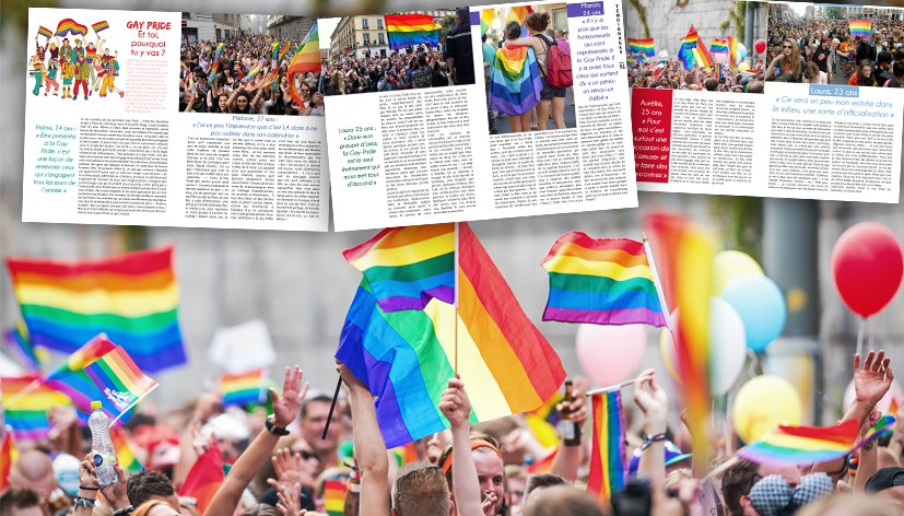 Gay Pride : Et toi, pourquoi tu y vas ?