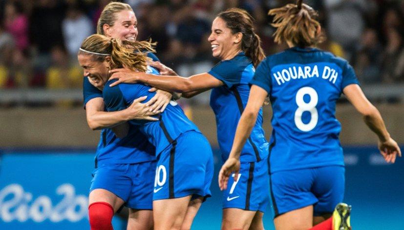 Rio 2016 : Première victoire pour les Bleues !