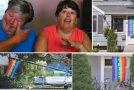 Etats-Unis : un quartier se pare aux couleurs du rainbow flag pour soutenir un couple lesbien