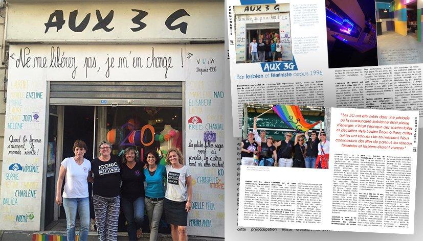 Marseille : Aux 3G, le bar associatif lesbien et féministe fête ses 20 ans