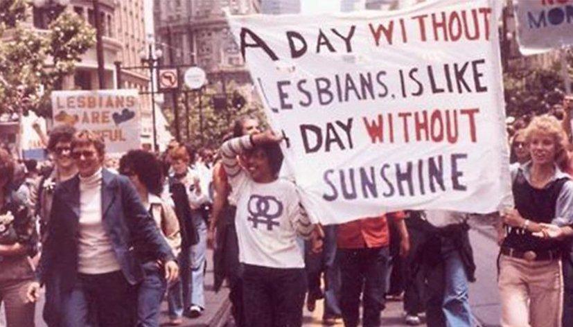 Aujourd'hui c'est la Journée internationale des lesbiennes !