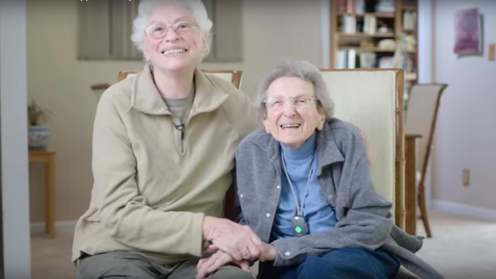 Lennie et Pearl, en couple depuis 50 ans, expliquent pourquoi elles voteront Hillary Clinton