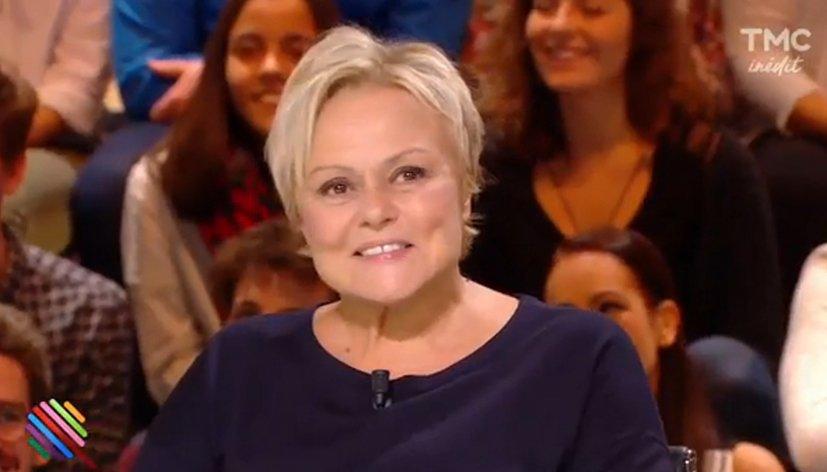 Invitée de l'émission Quotidien, Muriel Robin évoque sa rencontre avec la Manif pour tous