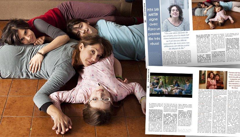 Homoparentalité : Pepa San Martin signe avec Rara un premier long métrage très réussi