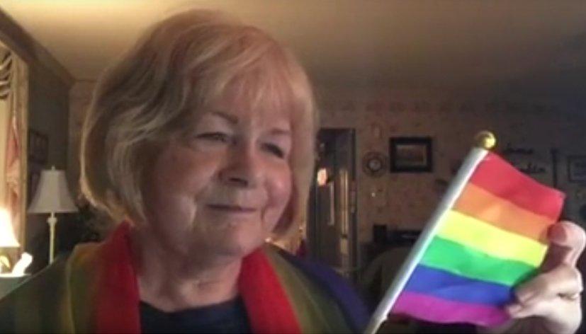 Découvrez Rainbow Flag, l'hymne LGBT de Sherri Gray, une grand-mère de 75 ans