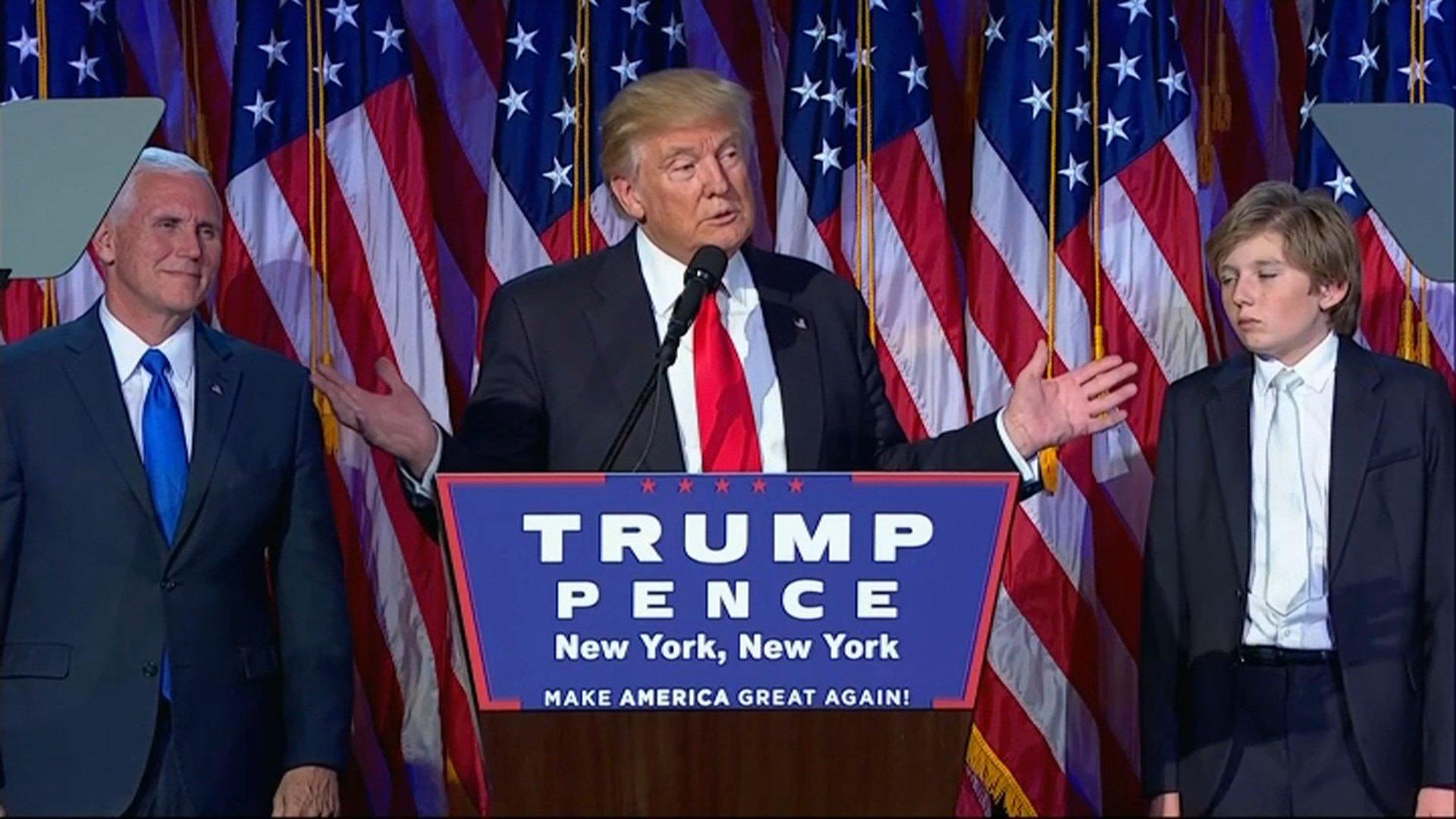 Le choc : Donald Trump élu 45e président des Etats-Unis