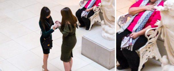 Une demande en mariage émeut la toile