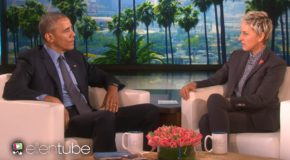 Ellen DeGeneres remercie Barack Obama alors qu'il quitte aujourd'hui la Maison-Blanche