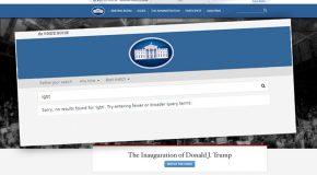 La page dédiée aux droits des LGBT a disparu du site internet de la Maison-Blanche