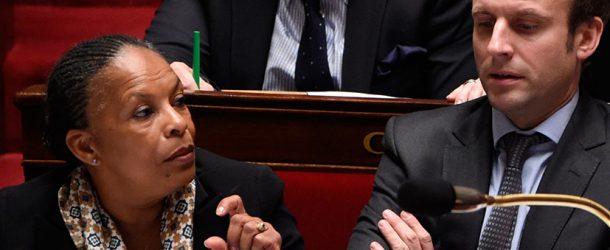 Christiane Taubira répond à Macron sur les «humiliés» de la Manif pour tous