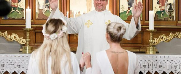 Norvège : l'Eglise protestante ouvre le mariage religieux aux homosexuels