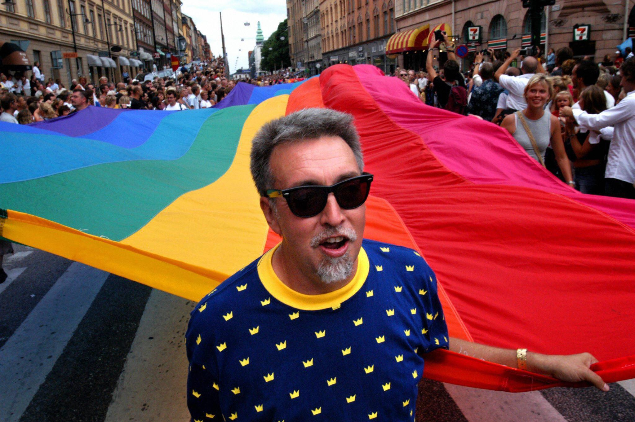 Gilbert Baker, le créateur du drapeau arc-en-ciel, est décédé