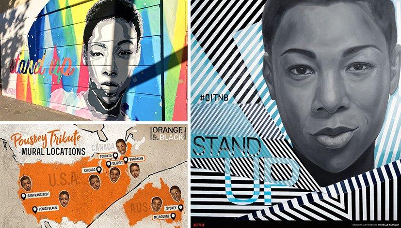 Netflix rend hommage à Poussey d'Orange Is the New Black