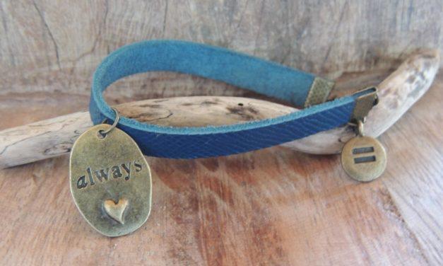 Bracelet cuir Always