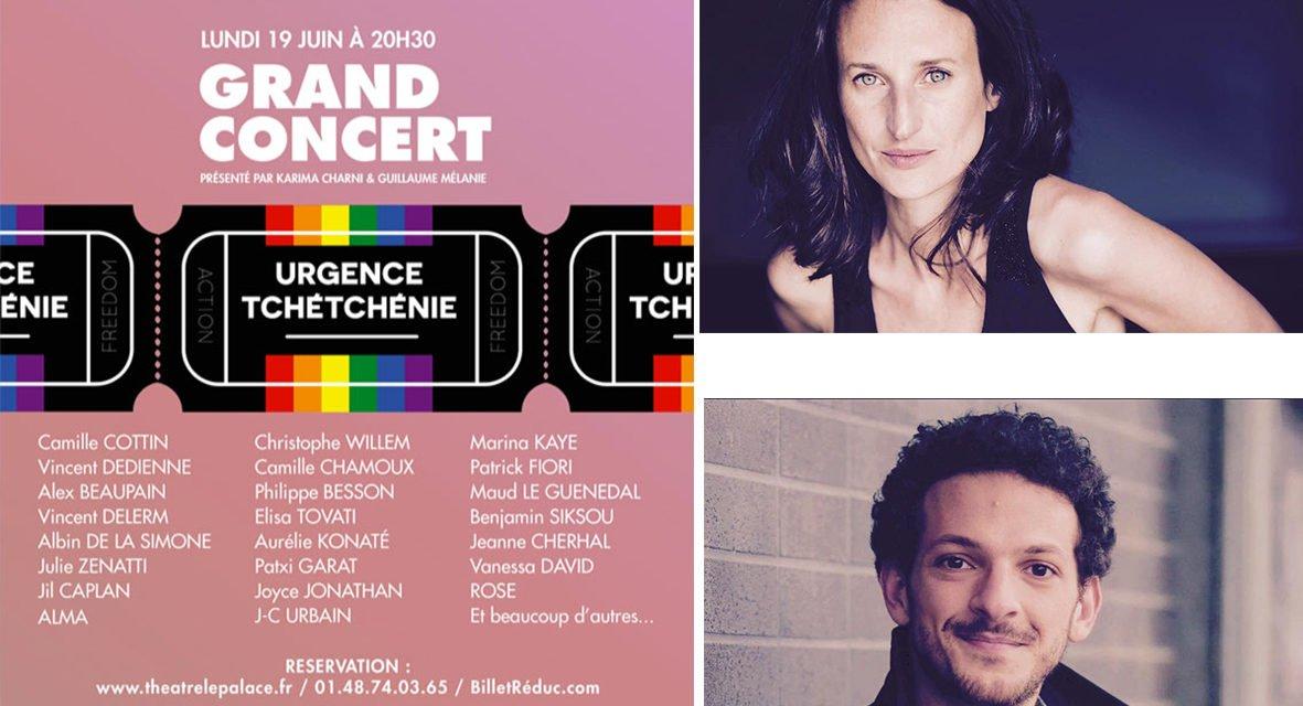 Urgence Tchétchénie organise ce soir un grand concert à Paris en soutien aux homosexuels persécutés