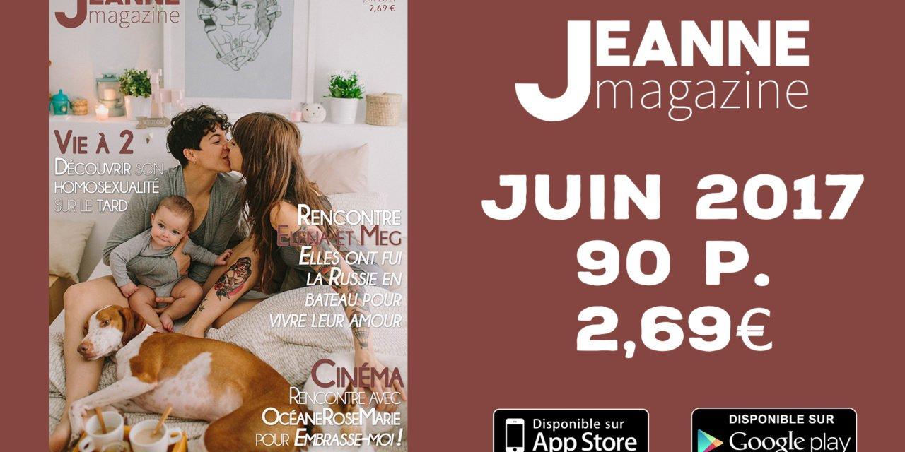 Sortie de Jeanne Magazine N°41 – Juin 2017