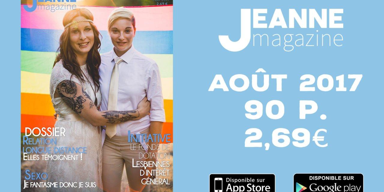 Sortie de Jeanne Magazine n°43 – Août 2017