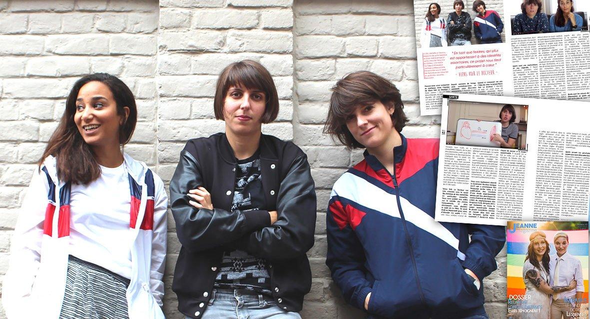 Rencontre avec Marielle, Pierrine et Elisa de Viens Voir Le Docteur