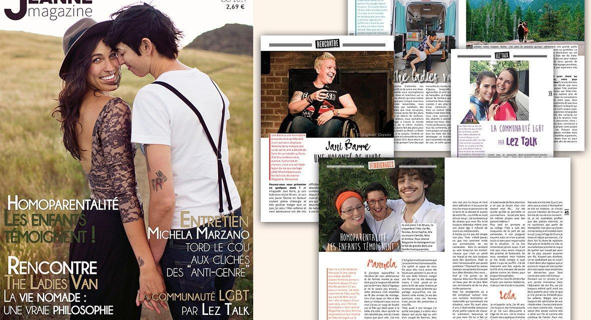 Sortie de Jeanne Magazine n°45 – octobre 2017