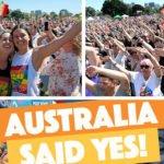 Les Australiens se prononcent majoritairement en faveur de l'ouverture du mariage aux couples homos