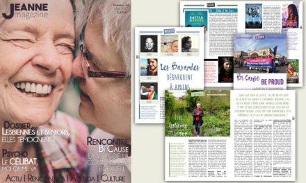 Sortie de Jeanne Magazine n°46 – Novembre 2017