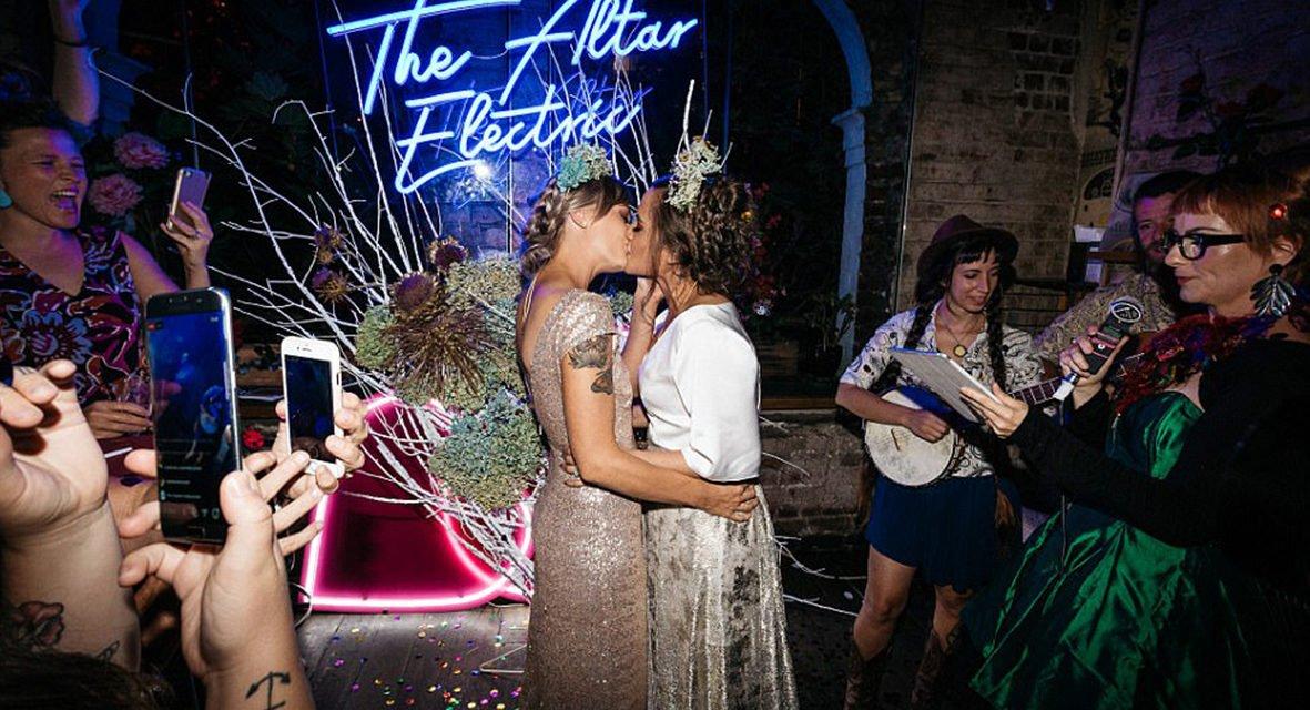 Australie : les premiers mariages de couples homos viennent d'être célébrés