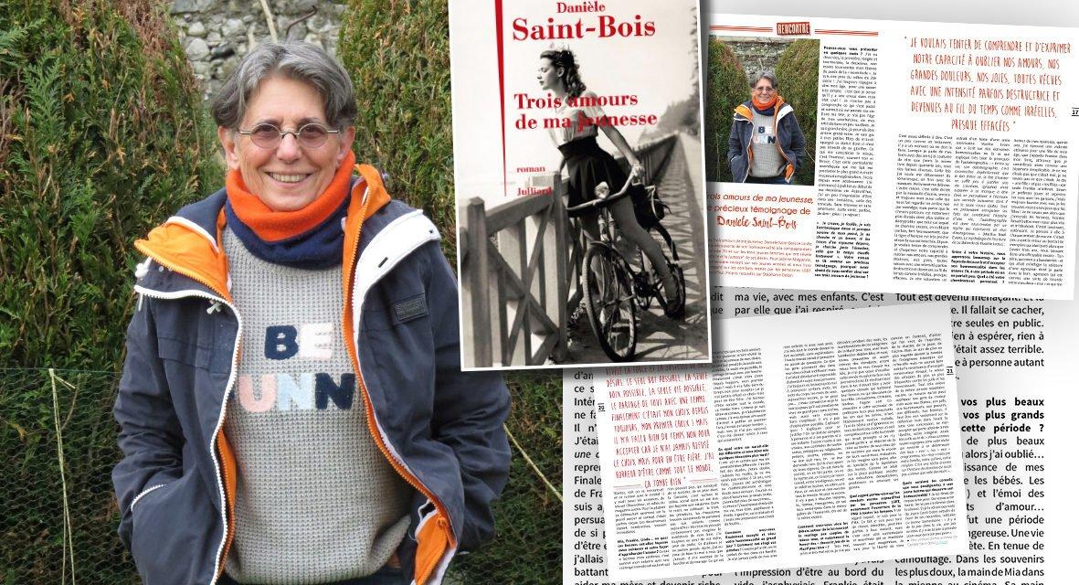 «Trois amours de ma jeunesse» le précieux témoignage de Danièle Saint-Bois