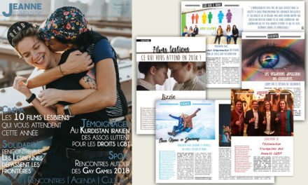 Sortie de Jeanne Magazine n°49 – Février 2018
