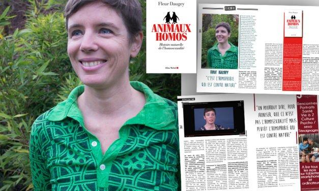 Rencontre avec Fleur Daugey pour «Animaux homos, histoire naturelle de l'homosexualité»